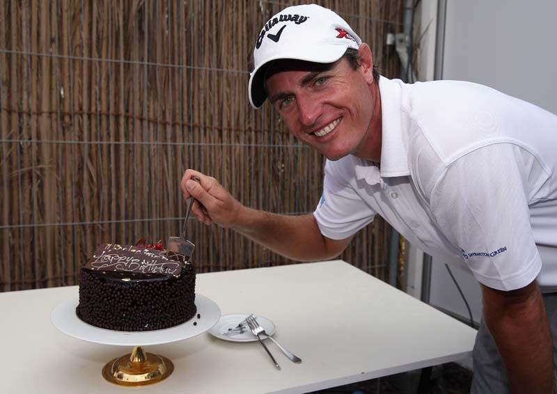 Having his cake