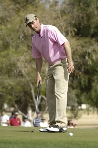 Bob Estes in action during the third round of the 2006 Chrysler Classic of Tucson on Saturday, February 25, 2006 at the Omni Tucson National Golf Resort and Spa in Tucson, ArizonaPhoto by Marc Feldman/WireImage.com