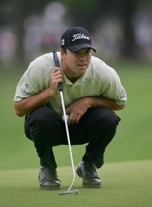 Arron Oberholser during the first round of the 2006 U.S. Open Golf Championship at Winged Foot Golf Club in Mamaroneck, New York on June 15, 2006.Photo by Sam Greenwood/WireImage.com