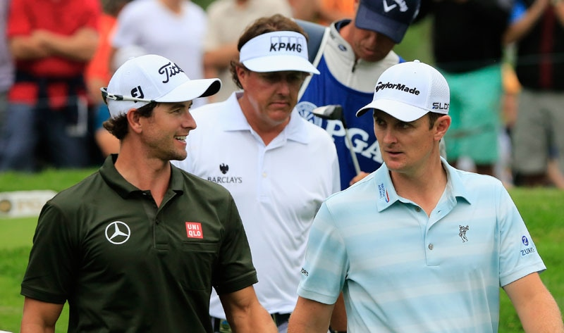Adam Scott, Phil Mickelson
