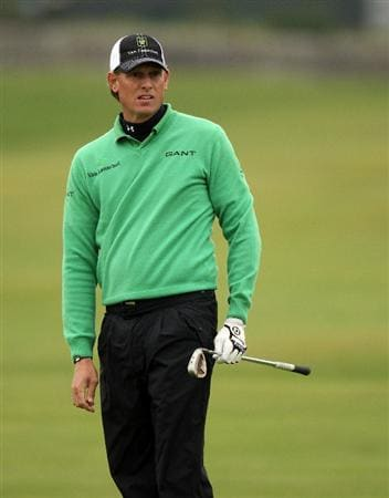 ST ANDREWS, SCOTLAND - OCTOBER 09:  Maarten Lafeber of the Netherlands during the third round of The Alfred Dunhill Links Championship at The Old Course on October 9, 2010 in St Andrews, Scotland.  (Photo by Ross Kinnaird/Getty Images)