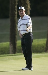 Joe Durant during the second round of THE PLAYERS Championship held at the TPC Stadium Course in Ponte Vedra Beach, Florida on March 24, 2006.Photo by Sam Greenwood/WireImage.com
