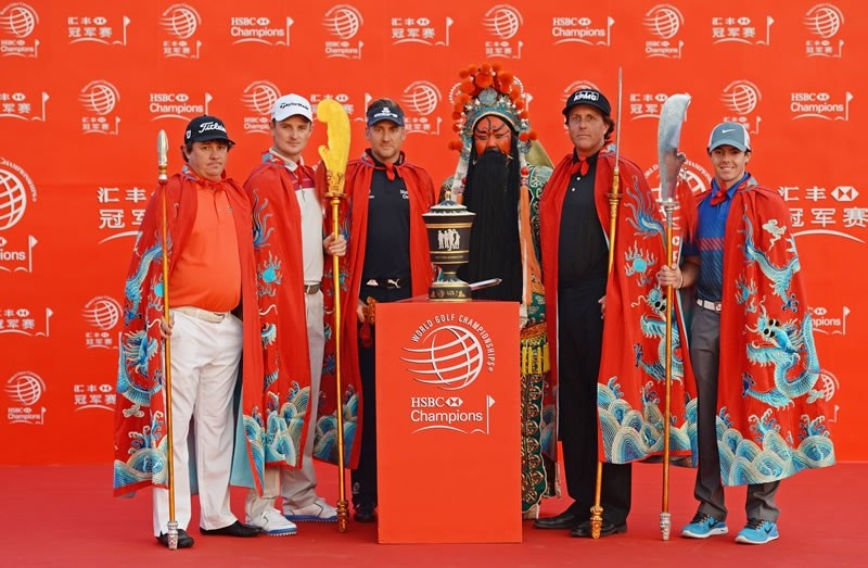 Phil Mickelson, Ian Poulter, Jason Dufner, Rory McIlroy, Justin Rose