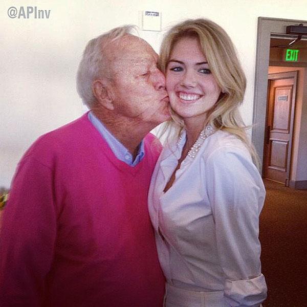 Arnold Palmer Kate Upton