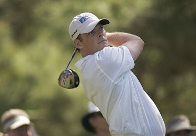James Driscoll during a practice round for THE PLAYERS Championship held at the TPC Stadium Course in Ponte Vedra Beach, Florida on Wednesday, March 22, 2006.Photo by Michael Cohen/WireImage.com