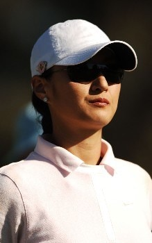 Grace Park in action during the second round of the LPGA's 2005 Kraft Nabisco Championship, at Mission Hills Country Club in Rancho Mirage, California March 25, 2005.