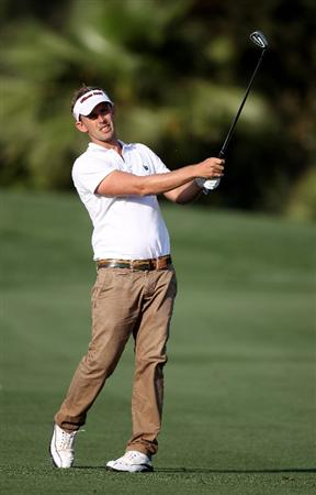 SEVILLE, SPAIN - APRIL 30:  Fredrik Ohlsson of Sweden during the second round of the Open de Espana at the Real Club de Golf de Seville on April 30, 2010 in Seville, Spain.  (Photo by Ross Kinnaird/Getty Images)
