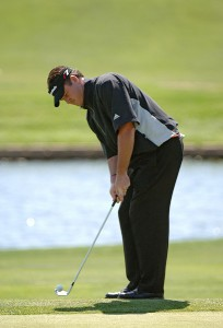 Todd Hamilton during the first round of the EDS Byron Nelson Championship held at the TPC Players Course and the Cottonwood Valley Course on Thursday, May 11, 2006 in Irving, TexasPhoto by Marc Feldman/WireImage.com