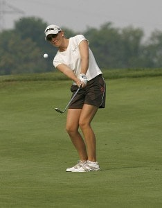 Stephanie Louden during the second round of the 2006 Wendy's Championship for Children held at Tartan Fields Golf Club in Dublin, Ohio on August 25, 2006.Photo by Kevin C.  Cox/WireImage.com