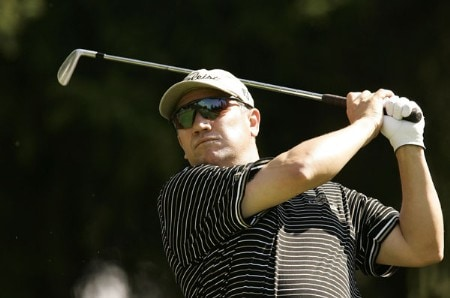 Peter O'Malley during the third round of the 2005 Omega European Masters at the Crans-sur-Sierre Golf Club . September 3, 2005Photo by Pete Fontaine/WireImage.com