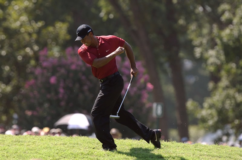 2007: Tiger Woods, Southern Hills Country Club