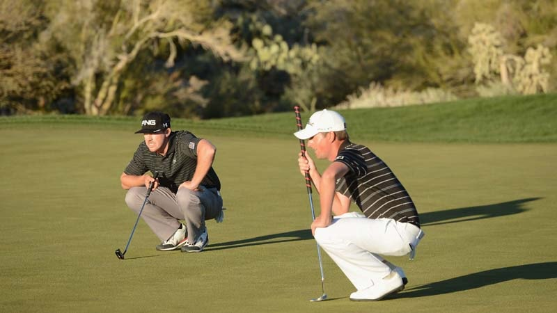 Hunter Mahan and Webb Simpson