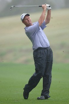 Joe Durant on the sixth hole during the second round of THE PLAYERS Championship at the Tournament Players Club at Sawgrass in Ponte Vedra Beach, Florida on March 26, 2005.
