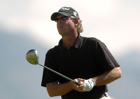 Robin Freeman in action during the third round of the PGA's Tour 2005 Chrysler Classic of Tucson at the Omni Tucson National Golf Resort & Spa February 26, 2005 in Tuscon, Arizona.