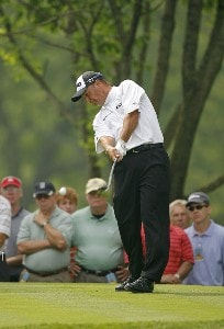 Chris DiMarco during the first round of the Memorial Tournament Presented by Morgan Stanley held at Muirfield Village Golf Club in Dublin, Ohio, on May 31, 2007. Photo by Mike Ehrmann/WireImage.com