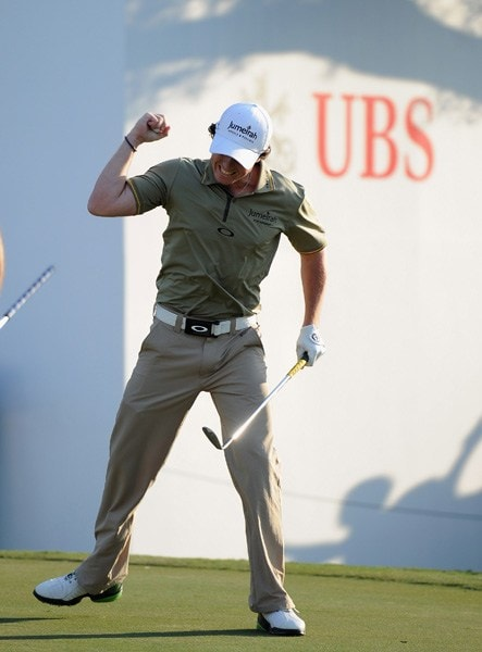 Rory McIlroy at the 2011 UBS Hong Kong Open