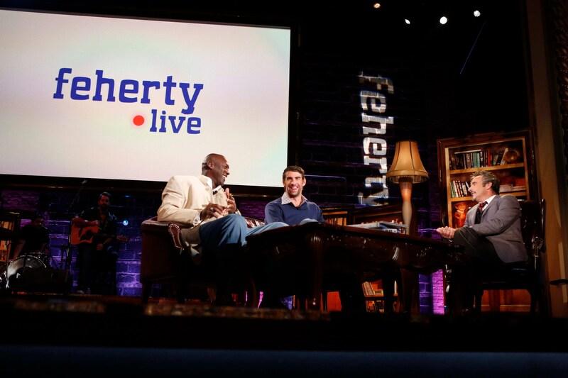 Michael Jordan, Michael Phelps, David Feherty; Feherty Live