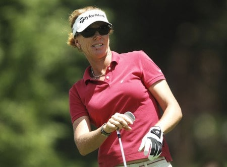 Helen Alfredsson in action during the third round of the 2005 U.S. Women's Open at Cherry Hills Country Club in Englewood, Colorado, June 25, 2005.Photo by Steve Grayson/WireImage.com