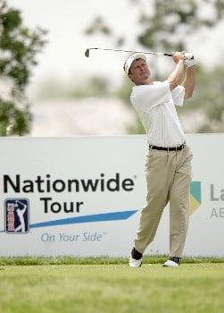Jim McGovern on the 17th hole during the third round of the 2005 LaSalle Bank Open at the The Glen Club in Glenview, Illinois on June 11, 2005.Photo by Mike Ehrmann/WireImage.com