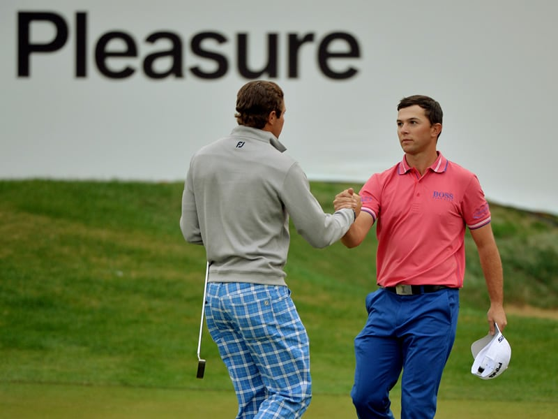 Peter Uihlein and Luke Guthrie