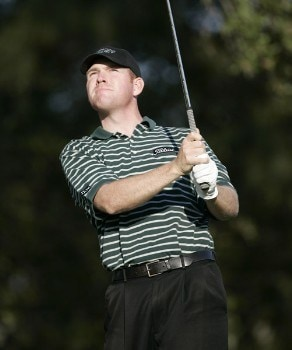 Troy Matteson during the first round of the Nationwide Tour Championship held  on the Senator course at Capitol Hill GC in Prattville, Alabama on Thursday, October 27, 2005.Photo by Sam Greenwood/WireImage.com