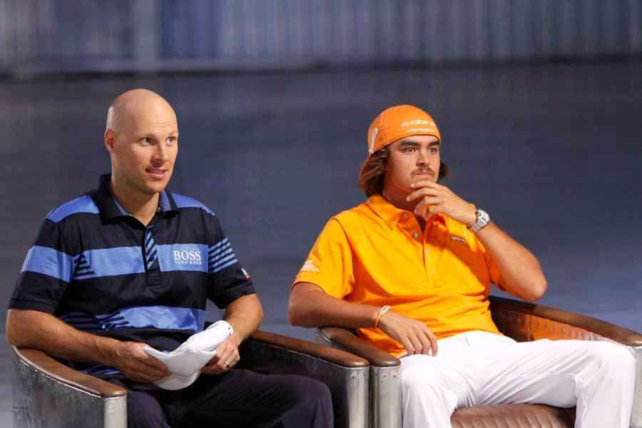 Feherty, Rickie Fowler and Ben Crane