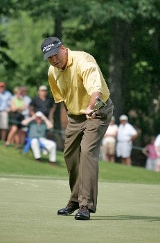 D.A. Weibring in action during the final round of the Bruno's Memorial Classic, May 22,2005, held at Greystone GC, Birmingham, Al. Weibring shot 15 under par for the tournament.Photo by Stan Badz/PGA TOUR/WireImage.com