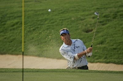 Dana Quigley in action during the first round of the 2006 Mastercard Championship  at Hualalai resort,  Kona, Hawaii. January 20,2006Photo by: Chris Condon/PGA TOUR