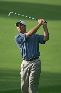Arron Oberholser during practice for the 2006 U.S. Open Golf Championship held at Winged Foot Golf Club in Mamaroneck, New York on June 14, 2006