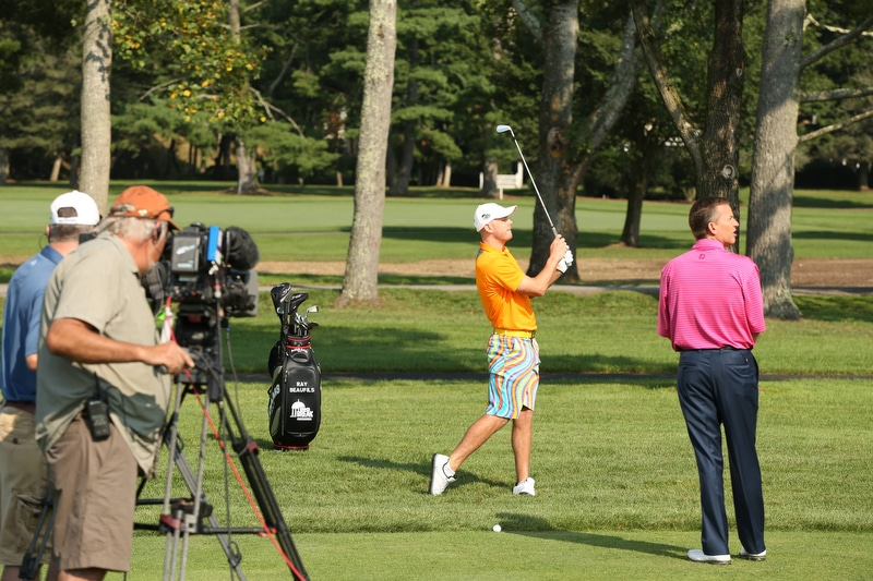 Big Break Academy Greenbrier, Michael Breed and Ray Beaufils