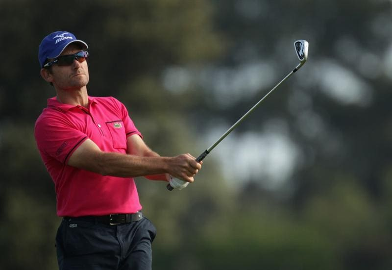 BARCELONA, SPAIN - MAY 05:  Ignacio Garrido of Spain during the first round the Open de Espana at the the Real Club de Golf El Prat on May 5 , 2011 in Barcelona, Spain.  (Photo by Ross Kinnaird/Getty Images)