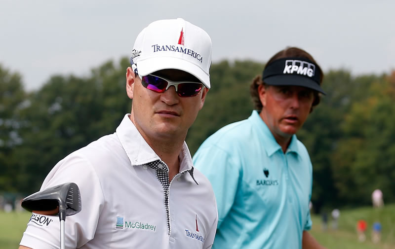Zach Johnson and Phil Mickelson