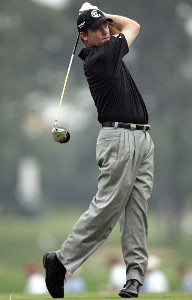 Shaun Micheel during the third round of the 88th PGA Championship at Medinah Country Club in Medinah, Illinois, on August 19, 2006.Photo by Hunter Martin/WireImage.com