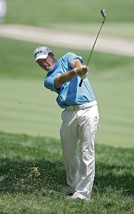Alex Cejka during the third round of the John Deere Classic at TPC at Deere Run in Silvis, Illinois on July 15, 2006.Photo by Michael Cohen/WireImage.com