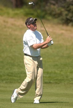 Rich Beem in action during the final round of The 2005 INTERNATIONAL at Castle Pines Country Club in Castle Rock, Colorado August 7, 2005.Photo by Steve Grayson/WireImage.com