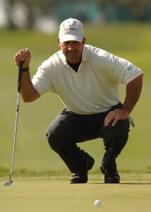 Marco Dawson in action during the first round of the PGA TOUR's 2006 Buick Invitationa at Torrey Pines South in La Jolla, California January 26, 2006Photo by Steve Grayson/WireImage.com