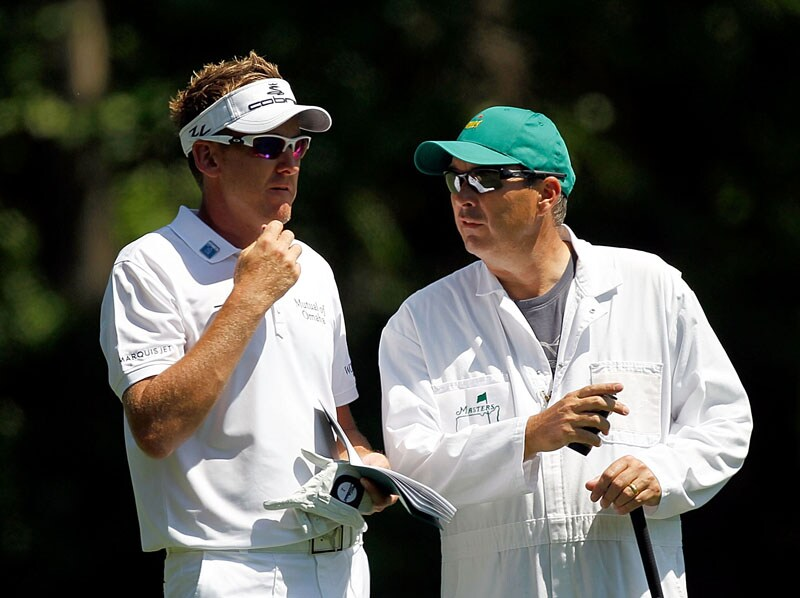 Ian Poulter and Terry Mundy