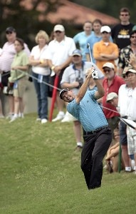 Cliff Kresge during the final round of THE PLAYERS Championship held on THE PLAYERS Stadium Course at TPC Sawgrass in Ponte Vedra Beach, Florida, on May 13, 2007. Photo by Chris Condon/PGA TOUR/WireImage.com