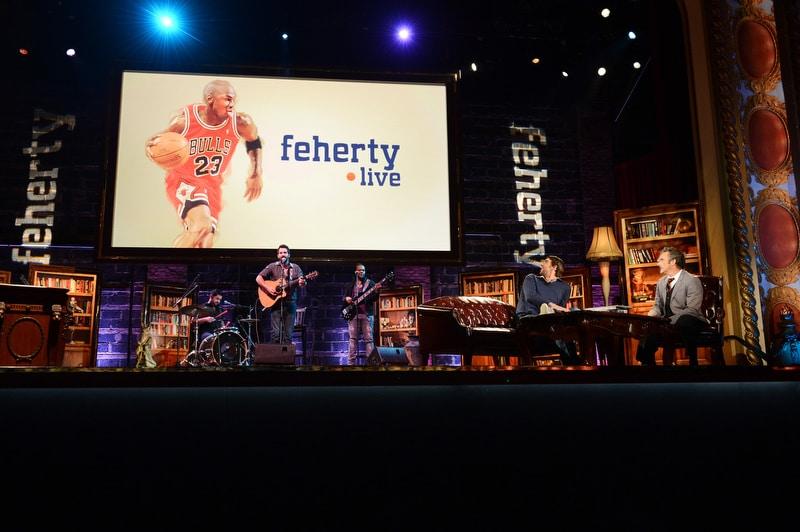 Feherty Live; Michael Phelps