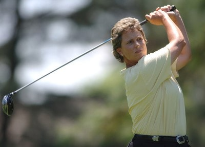 Brandie Burton in action during the third round of the LPGA's 2006 Michelob ULTRA Open at Kingsmill, at the Kingsmill Resort and Spa River Course in Williamsburg, Virginia on May 13, 2006.Photo by Steve Grayson/WireImage.com