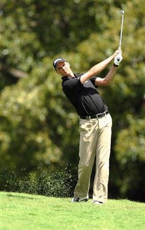 SYDNEY, AUSTRALIA - DECEMBER 14:  David Smail of Australia plays an approach shot on the seventh hole during the fourth round of the 2008 Australian Open at The Royal Sydney Golf Club on December 14, 2008 in Sydney, Australia.  (Photo by Mark Nolan/Getty Images)