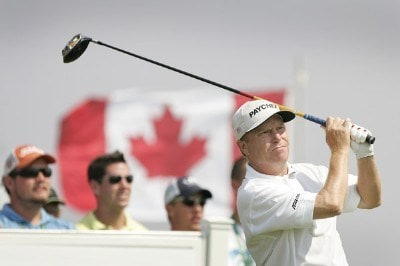 Jeff Sluman during the first round of the 2007 Canadian Open held on the North Course at Angus Glen Golf Club on July 26, 2007 in Markham, Ontario, Canada. PGA TOUR - 2007 Canadian Open - First RoundPhoto by Stan Badz/PGA TOUR/WireImage.com