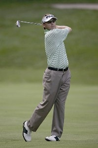 Heath Slocum  during the third round of the John Deere Classic at TPC at Deere Run in Silvis, Illinois on July 15, 2006.