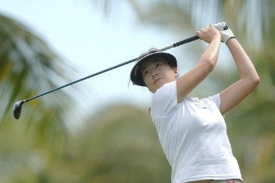 Shi Hyun Ahn in action during Pro-Am the inaugural 2006 Fields Open in Hawaii at Ko Olina Golf Club in Kapolei, Hawaii February 22, 2006.Photo by Steve Grayson/WireImage.com