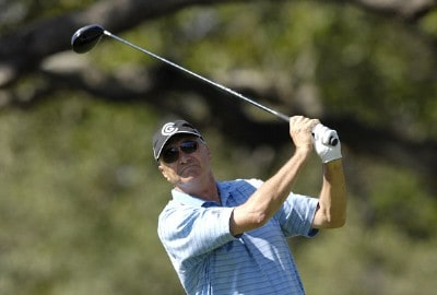 Don Pooley during the first round of the AT&T Championship at Oak Hills Country Club in San Antonio, Texas, on October 20, 2006. Champions Tour - 2006 AT&T Championship - First RoundPhoto by Steve Levin/WireImage.com