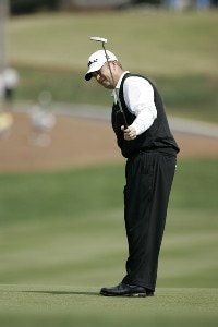 Dudley Hart during the second round at the BellSouth Classic at TPC Sugarloaf in Duluth, Georgia, on March 31, 2006.Photo by: Stan Badz/WireImage