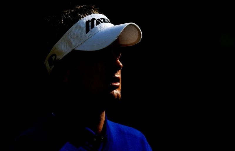 HILTON HEAD ISLAND, SC - APRIL 16:  Luke Donald of England walks off the 11th hole during the first round of the Verizon Heritage at Harbour Town Golf Links on April 16, 2009 in Hilton Head Island, South Carolina.  (Photo by Streeter Lecka/Getty Images)