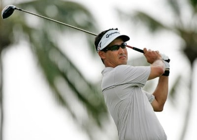 Dean Wilson hits a drive during practice round at the Sony Open in Hawaii held at Waialae Country Club on January 9, 2008 in Honolulu, Hawaii. PGA TOUR - 2008 Sony Open in Hawaii - Pro-AmPhoto by Stan Badz/PGA TOUR/WireImage.com