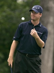 Joe Ogilvie during the second round of the John Deere Classic at TPC at Deere Run in Silvis, Illinois on July 14, 2006.Photo by Michael Cohen/WireImage.com