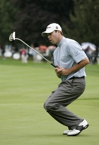 Arron Oberholser during the third round of the Canadian Open held at Hamilton Golf and Country Club in Ancaster, Ontario, Canada, on September 9, 2006.Photo by: Stan Badz/PGA TOUR